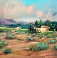 Santa Fe Pueblo by Sally Seago