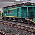 Santa Fe Rail Yard by Diana Powell