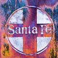 Santa Fe Rr by Lou Novick