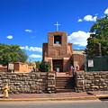 Santa Fe - San Miguel Chapel 6 by Frank Romeo