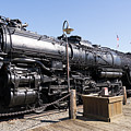 Santa Fe Steam Locomotive Engine Number 2925 At Old Sacramento California Dsc4920 by Wingsdomain Art and Photography