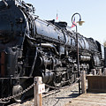 Santa Fe Steam Locomotive Engine Number 2925 At Old Sacramento California Dsc4921 by Wingsdomain Art and Photography