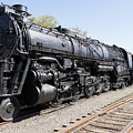 Santa Fe Steam Locomotive Engine Number 5021 At Old Sacramento California Dsc4926 by Wingsdomain Art and Photography