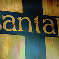 Santa Fe Vintage Sign by Bob Christopher