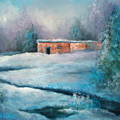 Santa Fe Winter by Sally Seago