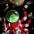 Santa In Space by Alex Tomlinson