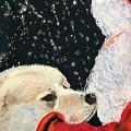 Santa Loves Dogs by Joyce Spencer