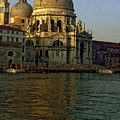 Santa Maria Della Salute In Venice In Morning Light by Michael Henderson