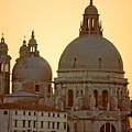 Santa Maria Della Salute In Venice by Michael Henderson