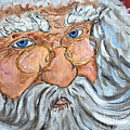 Santa - Merry Christmas Art by Ella Kaye Dickey
