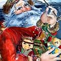 Santa by Mindy Newman
