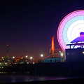 Santa Monica - Ferris Wheel by Andre Distel