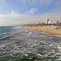 Santa Monica Beach by Robert Meyers-Lussier