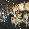 Santa Monica Carousel by Sher Magins