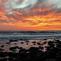 Santa Monica Mountains Sunset by Kyle Hanson