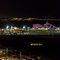Santa Monica Pier Light Show - Series 1 by Gene Parks