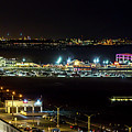 Santa Monica Pier Light Show - Series 2 by Gene Parks