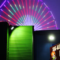 Santa Monica Pier After Dark by Clayton Bruster