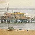 Santa Monica Pier by Anthony Murphy