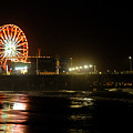 Santa Monica Pier by Clayton Bruster