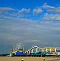 Santa Monica Pier by Marc Bittan