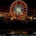 Santa Monica Pier October 18 2007  by Clayton Bruster