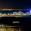 Santa Monica Pier Sparkle - Panorama by Gene Parks