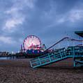 Santa Monica Pier by Steven Hirsch