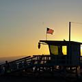 Santa Monica Sunset by Micah Williams