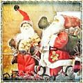 Santa Scene 2 by Rachel Hannah