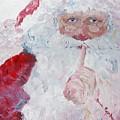 Santa Shhhh by Nadine Rippelmeyer
