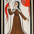 Santa Teresa De Avila - St. Teresa Of Avila - Aoavi by Br Arturo Olivas OFS