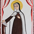Santa Teresa De Avila - St. Teresa Of Avila - Aotda by Br Arturo Olivas OFS
