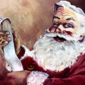 Santa With A List by Sheila Kinsey