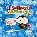 Santa's Workshop Penguin by Justin Clanton