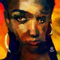 Santia In Orange 726 by Maciej Mackiewicz