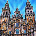 Santiago De Compostela Cathedral by Anthony Dezenzio
