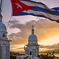 Santiago De Cuba Dusk by Claude LeTien