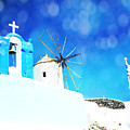 Santorini 1 by Sylvia Coomes