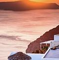 Santorini At Sunset - Santorini, Greece by Global Light Photography - Nicole Leffer
