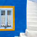 Santorini Blue by Justin Foulkes