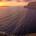Santorini Caldera Sunset by BBrave Photo