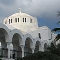 Santorini Church 2 by Lin Grosvenor