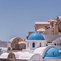 Santorini Church In Oia by Antony McAulay