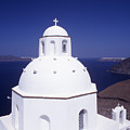 Santorini Church by Steve Outram