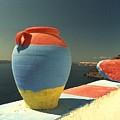 Santorini Color by David Coleman