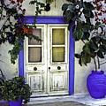 Santorini Doorway 1 by Madeline Ellis