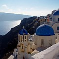 Santorini Greece by Nancy Bradley