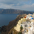 Santorini In The Afternoon Sun by Four Stock