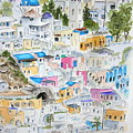 Santorini by Mary Kay Holladay